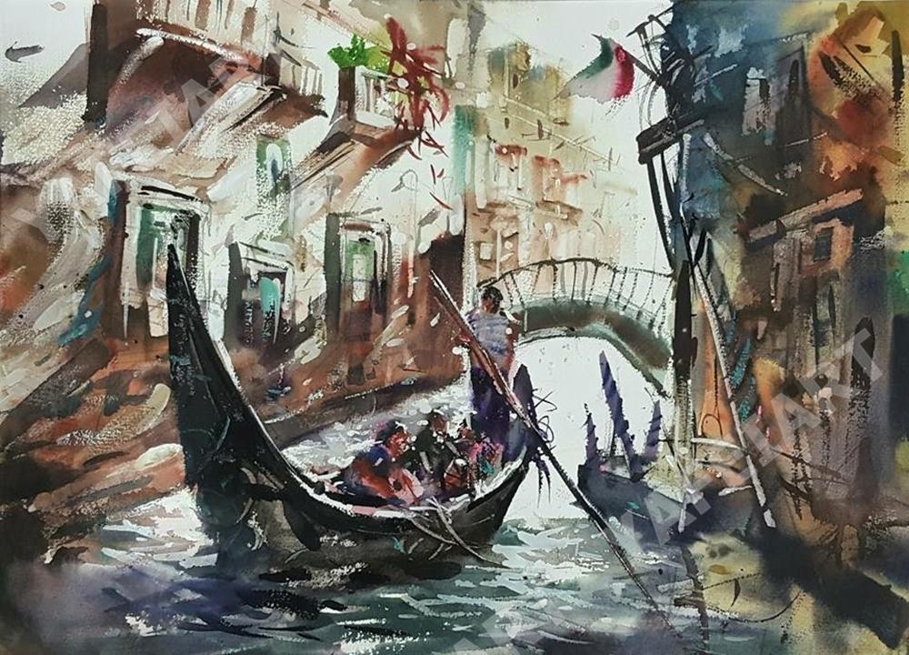 《威尼斯》風景課堂示範